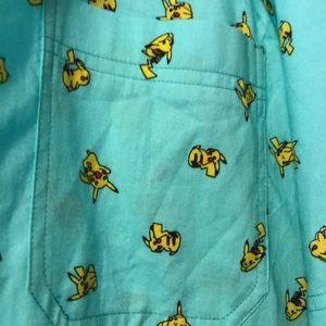 Pokemon Shirts - Pikachu Button Up!